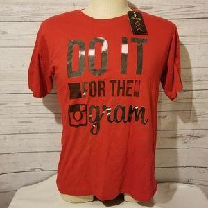 NWT Novelty Instagram T-Shirt